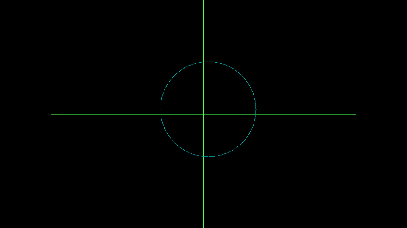 Circle drawing using DDA Algorithm